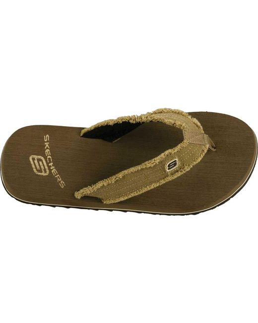 b1c4f276579a ... Skechers - Brown Tantric Fray for Men - Lyst ...