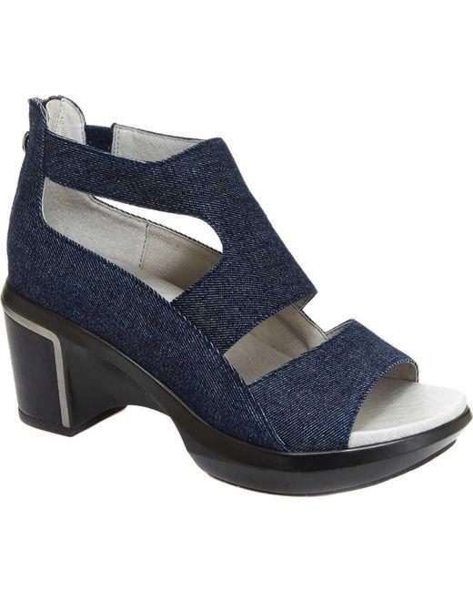 Jambu - Blue Rio Sculpted Heel Sandal - Lyst