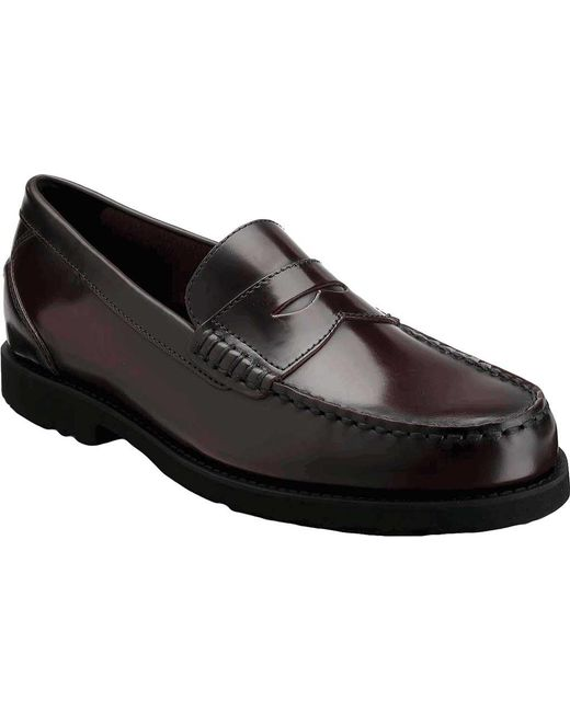 Rockport - Black Shakespeare Circle Loafer for Men - Lyst