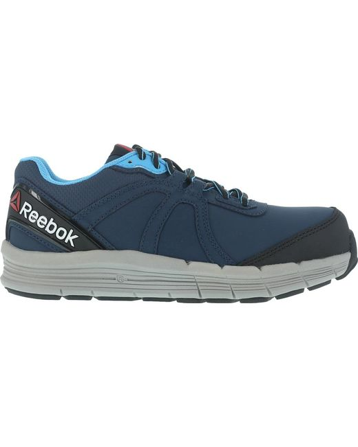 34a4af1832b ... Reebok - Blue One Guide Rb354 Work Shoe - Lyst ...