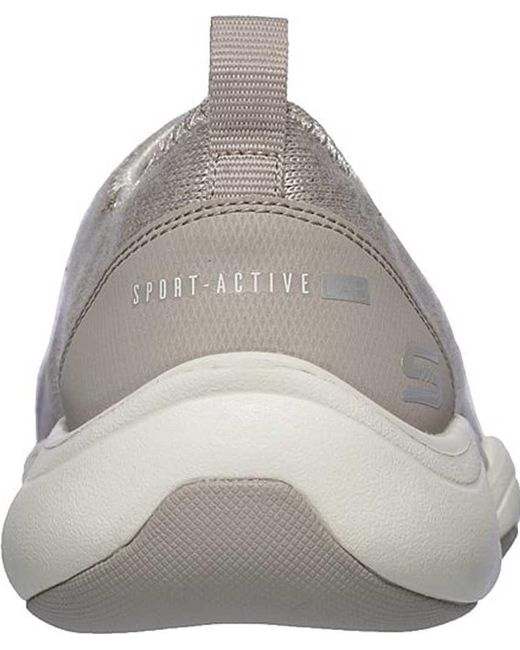 Lab Sneaker Women's On Gray Skech Can't Slip Stop wOPN8n0Xk