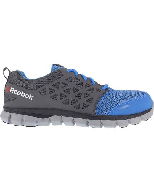 ... Reebok - Blue Sublite Cushion Rb044 Work Shoe - Lyst ... e8895592c