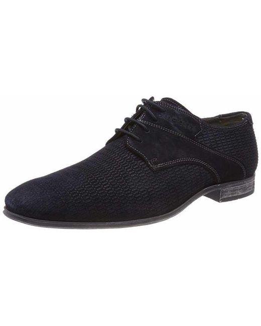 d5c9638b9c8af6 Bugatti - Black Business Schuhe Blau Mosario for Men - Lyst ...