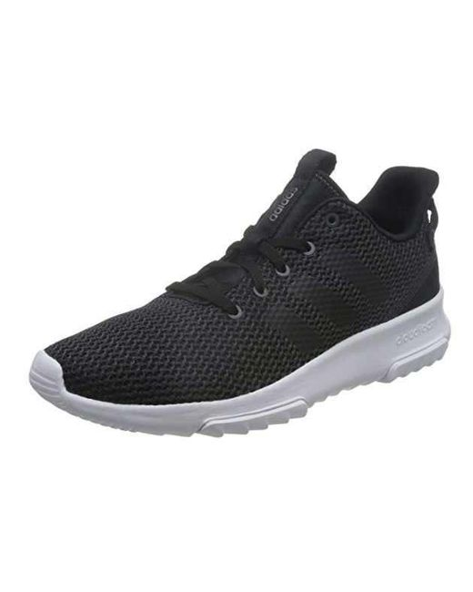 36a1ed37fc0a adidas Trainers Black Cf Racer Tr in Black for Men - Lyst