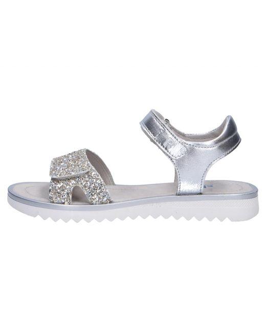65bdfc59203a ... Yves Salomon - Kids Girls Sandals Metallic Mädchen Sandalen for Men -  Lyst ...