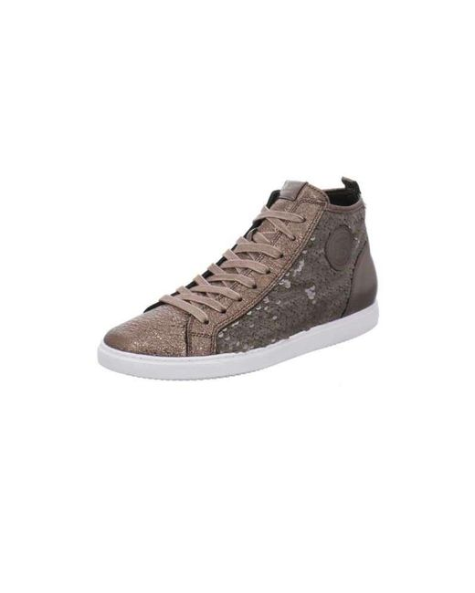 67182d5679b465 Paul Green Wo Casual Lace-ups Metallic in Metallic - Lyst