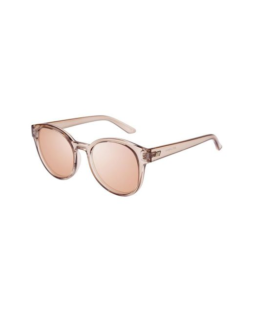 Le Specs - Brown Paramount Sunglasses In Tan - Lyst