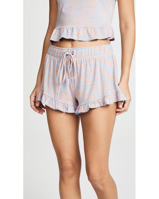 Honeydew Intimates - Blue Catnap Lounge Shorts - Lyst