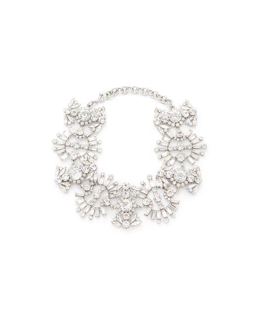 Elizabeth Cole | Multicolor Paxon Crystal Choker Necklace | Lyst