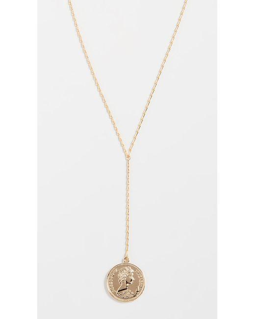 Shashi - Metallic Warrior Lariat Necklace - Lyst