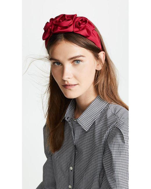 Jennifer Behr Triple Rosette Headband WovaKgu