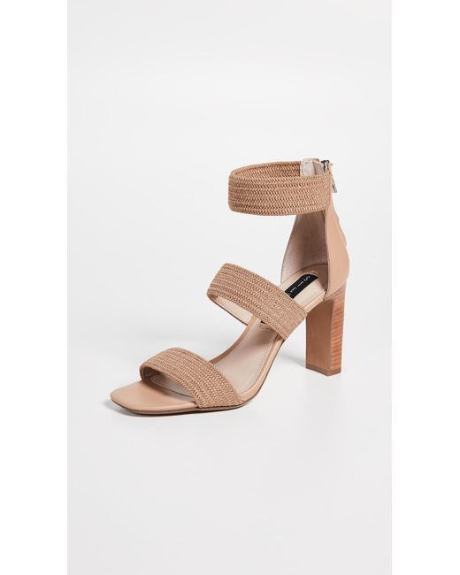 8654fab3311 Steven by Steve Madden - Natural Jelly Strappy Sandals - Lyst ...
