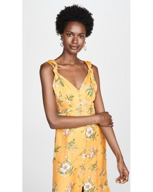 55fa54bc0 ... Rebecca Taylor - Multicolor Sleeveless Lita Tie Dress - Lyst ...