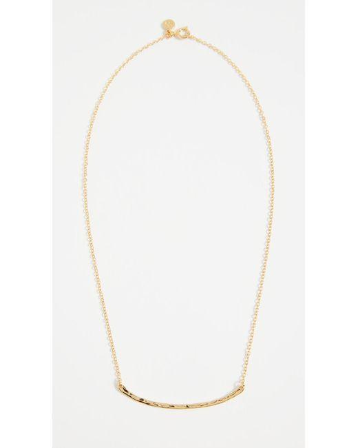 Gorjana - Metallic Taner Bar Necklace - Lyst