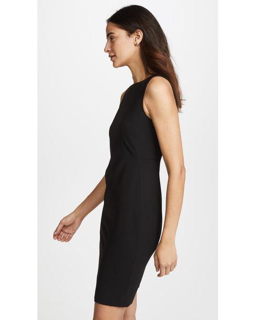 Theory black shift dress