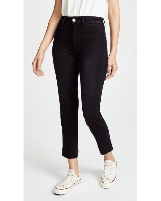 AMO - Black Audrey Cigarette Jeans - Lyst