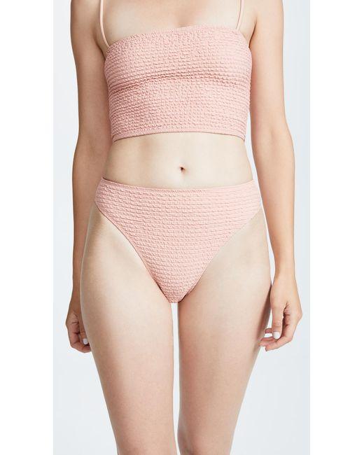 Same Swim - Pink The Cindy High Rise Bottoms - Lyst
