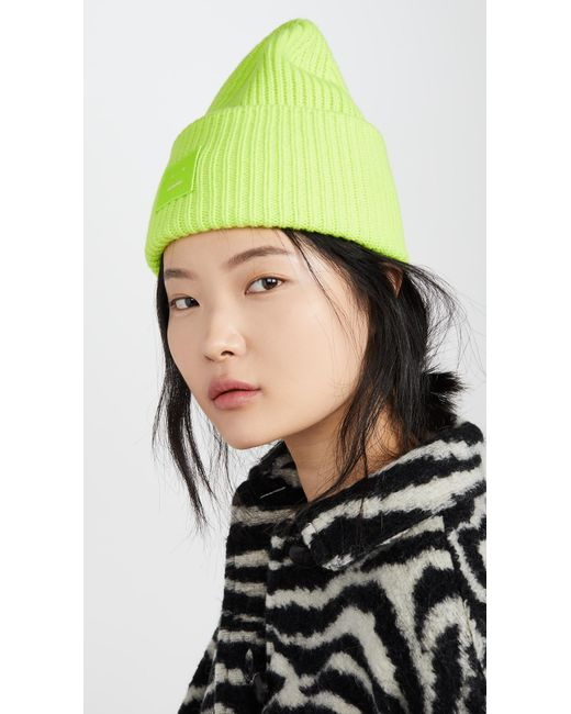 Acne - Green Pansy N Face Hat - Lyst