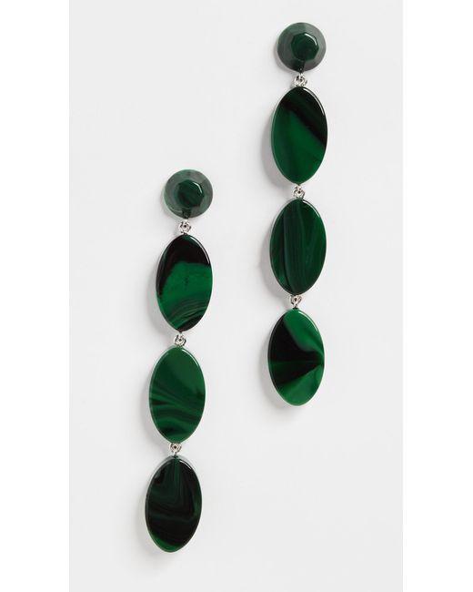 Rachel Comey - Green Bond Earrings - Lyst