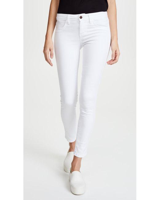 Siwy | Blue Hannah Slim Crop Jeans | Lyst