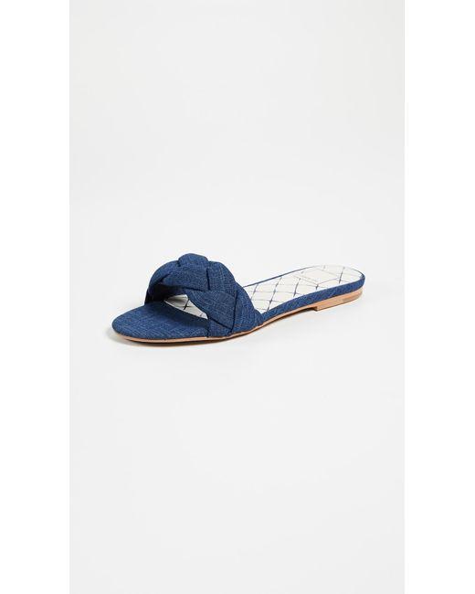 Dolce Vita - Blue Kimana Braided Sandals - Lyst