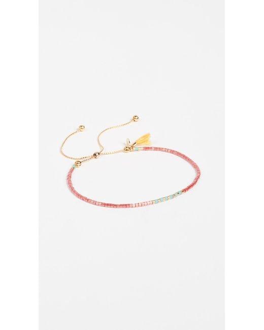 Shashi | Metallic Sam Chain Slide Bracelet | Lyst