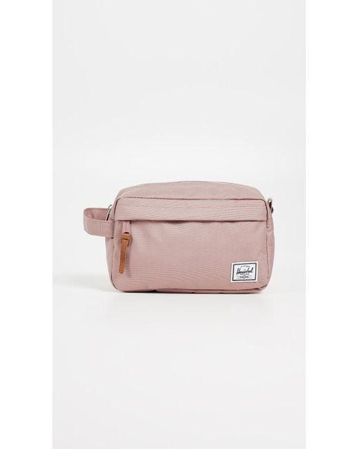 Herschel Supply Co. - Pink Chapter Travel Kit - Lyst