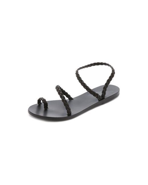 Ancient Greek Sandals - Black Eleftheria Sandals - Lyst