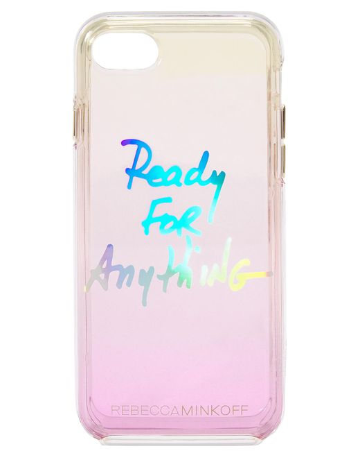 Rebecca Minkoff | Blue Ready For Anything Iphone 7 Case | Lyst
