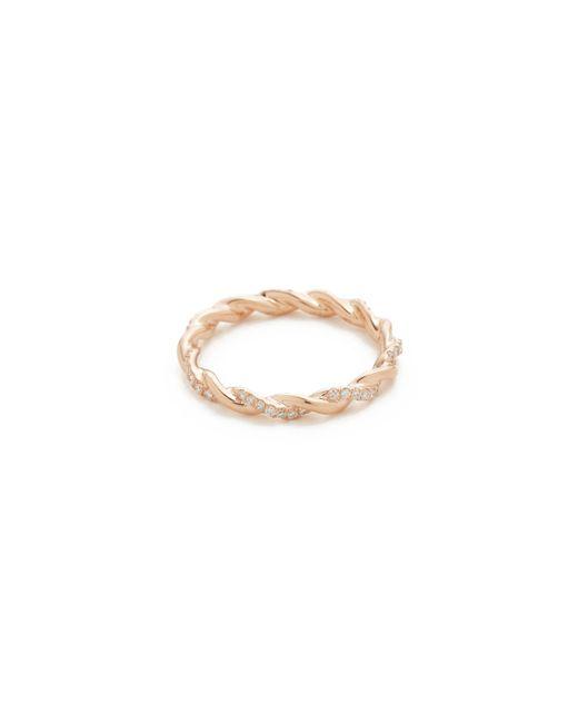 Dana Rebecca | Metallic Carly Brooke Twisted Ring | Lyst