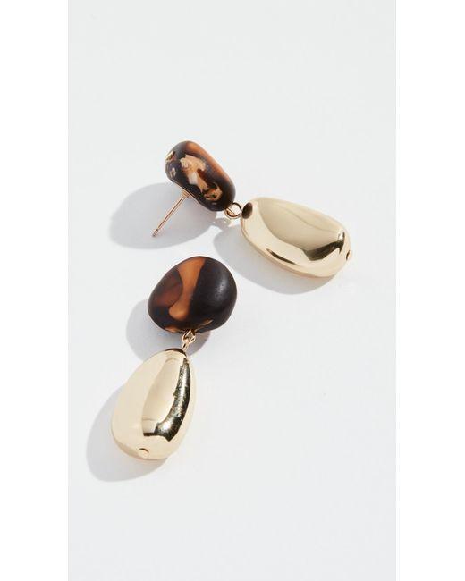 Dinosaur Designs - Multicolor Mineral Short Drop Earrings - Lyst