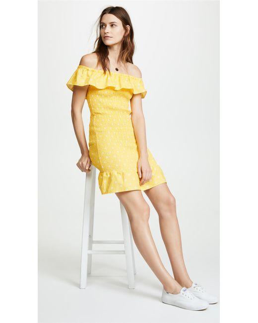 The Fifth Label - Yellow Fiesta Dress - Lyst
