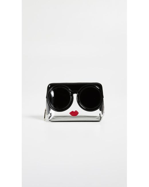 Alice + Olivia - Black Nikki Stacey Face Cosmetic Case - Lyst