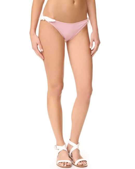Eberjey | Pink So Solid Ursula Bottoms | Lyst