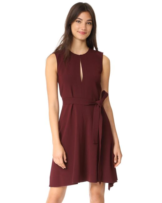 Theory | Red Desza B Dress | Lyst