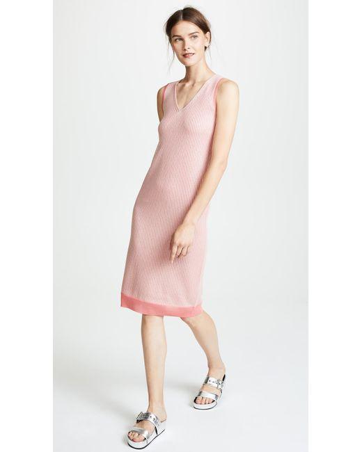 Rag & Bone - Pink Cora Dress - Lyst