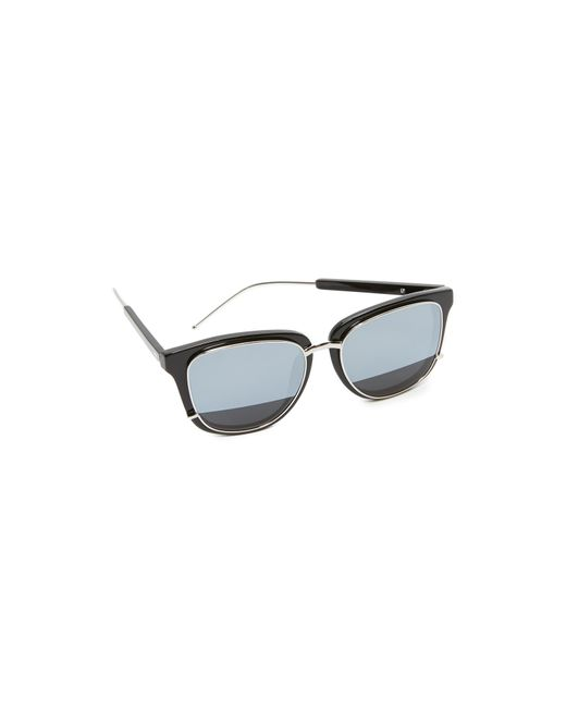 3.1 Phillip Lim | Multicolor Mirrored Sunglasses | Lyst