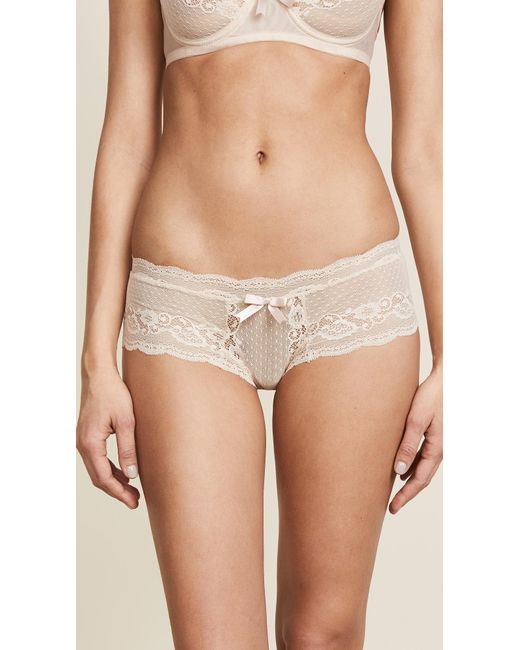 Eberjey - Natural Anouk Lace Briefs - Lyst