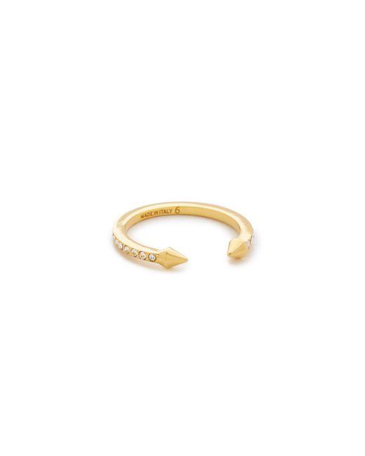 Vita Fede - Metallic Super Ultra Mini Titan Crystal Ring - Lyst