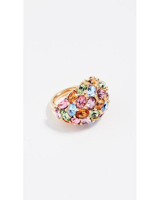 Kenneth Jay Lane - Multicolor Garden Ring - Lyst