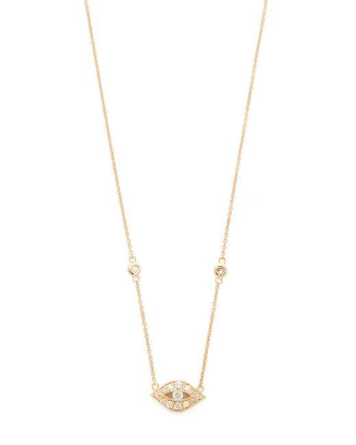 Jacquie Aiche | Metallic Diamond Eye Pendant Necklace | Lyst