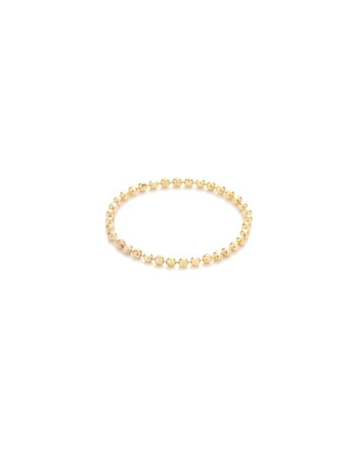 Gabriela Artigas - Yellow Soft Ball Chain Ring - Lyst