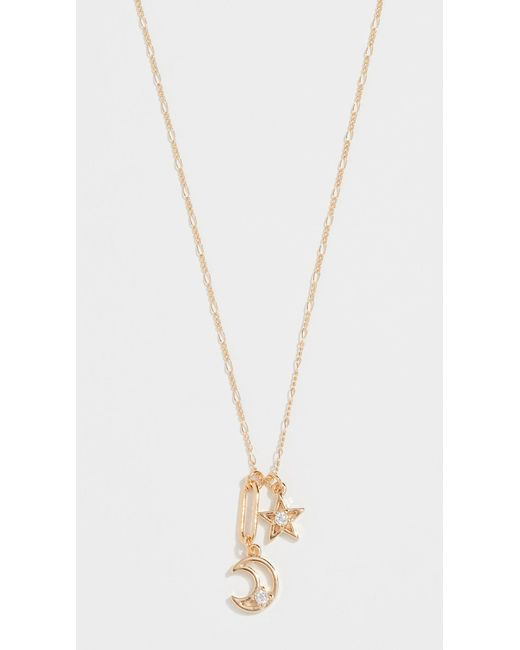 Cloverpost - Metallic Celeste Necklace - Lyst