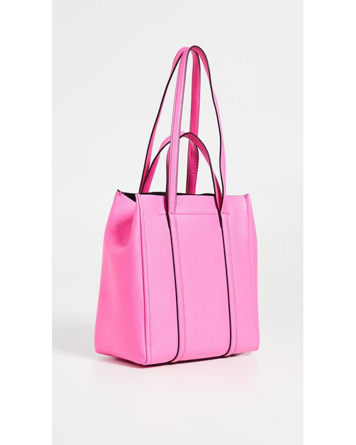 996790013d0d ... Marc Jacobs - Pink The Tag Tote 27 - Lyst ...
