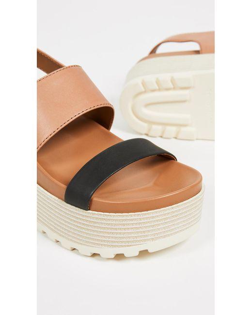a20edf69312 ... See By Chloé - Multicolor Jenna Platform Sandals - Lyst ...