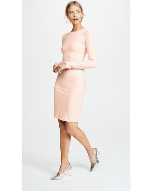 Susana Monaco - Natural Emma Long Sleeve Dress - Lyst