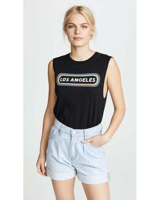 Replica Los Angeles - Black Los Angeles Muscle Tee - Lyst