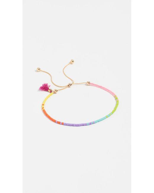 Shashi - Multicolor Sam Chain Bracelet - Lyst