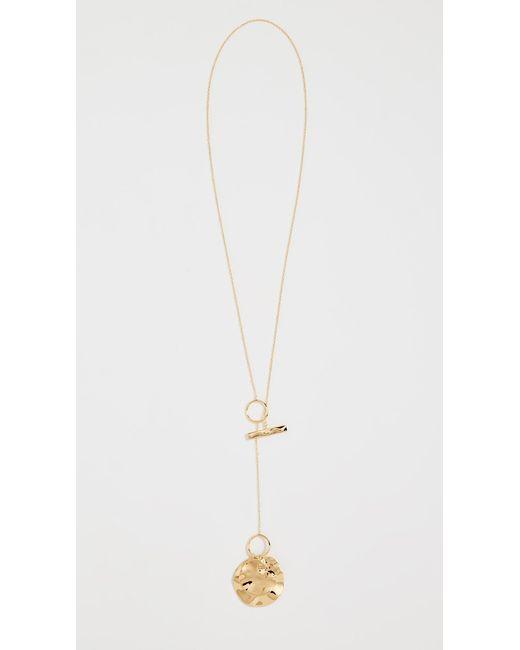 Gorjana - Metallic Chloe Toggle Versatile Necklace - Lyst