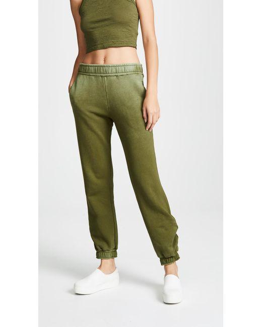 Cotton Citizen - Green Athletic Sweatpants - Lyst